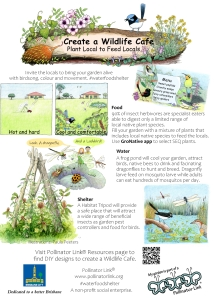 Create a Wildlife Cafe
