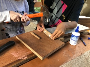 Learning to use a hammer - 16 April 2019