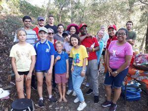 Proud volunteers - 28 April 2019