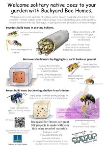 Solitary Bee Homes - ver 5.0